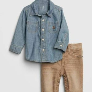 Baby Gap Two Piece Denim Outfit